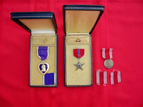 purple heart wwii medal medals