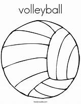 Volleyball Coloring Play Pages Let Printable Drawing Clipart Noodle Court Cartoon Lets Twistynoodle Twisty Ball Luck Soccer Sport Sports Outline sketch template