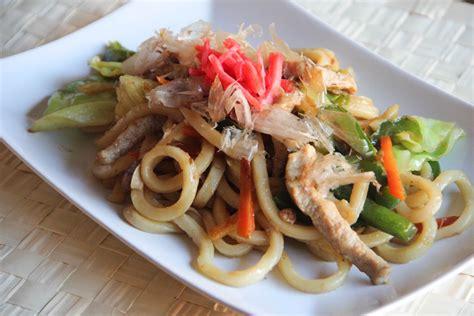 cuisine cook yakiudon stir fried udon japanese cooking 101