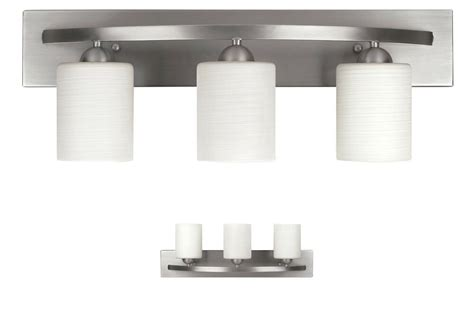 Bathroom Vanity Light Fixtures Brushed Nickel by 3 Bulb Vanity Light Bar Bathroom Fixture Brushed Nickel