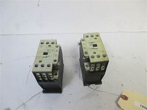 Lot Of 2 Moeller Dilm17 Electrical Contactor 240v For Hobart Hr7e Rotisserie