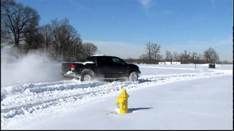 2wd Tundra In The Snow