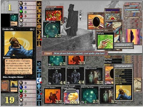 gathering magic planeswalkers duels game windows mtg games playing n64 japan screenshots myabandonware