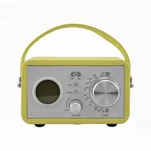 Radio Reveil Vintage : petit radio r veil vintage cadeau maestro ~ Teatrodelosmanantiales.com Idées de Décoration