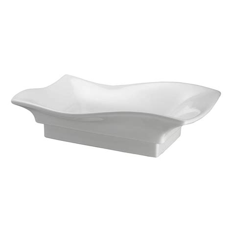 home depot white vessel sink pegasus carusso wave vessel sink in white e240 b the