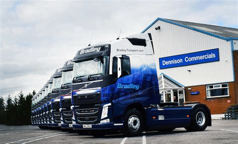 who makes volvo trucks bradley transport makes significant business investment