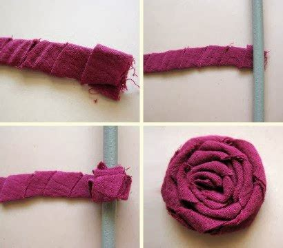 how to make flowers out of cloth el detalle que hace la diferencia flores con retazos de tela