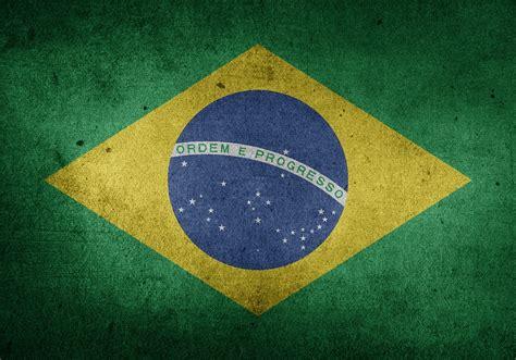 illustration brazil flag south america