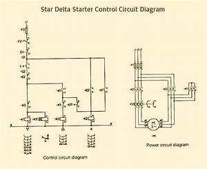 Star Delta Starter Control Wiring Diagram In
