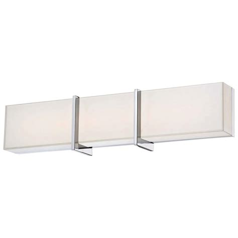 led bathroom vanity light minka lavery high rise led bath chrome vanity light 2922
