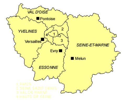 Carte Des Banlieue by Carte La Banlieue