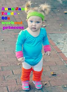 Cute Jane Fonda 80's Workout Costume for a Toddler ...