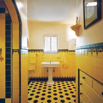 Moorish, Art deco bathroom and Chevron patterns on Pinterest