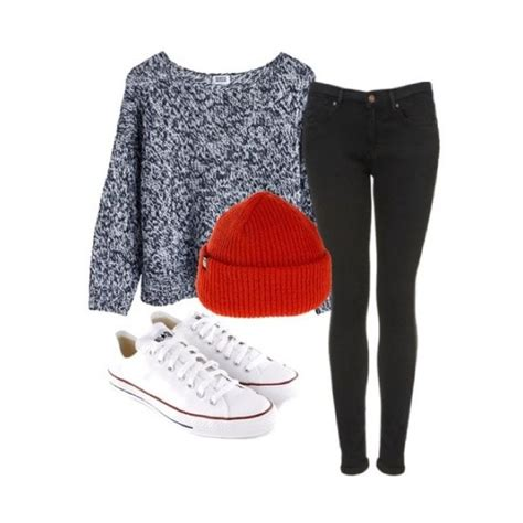 Cute winter outfit but with Vans instead of converse | Fall/Winter Clothes | Pinterest | Cute ...