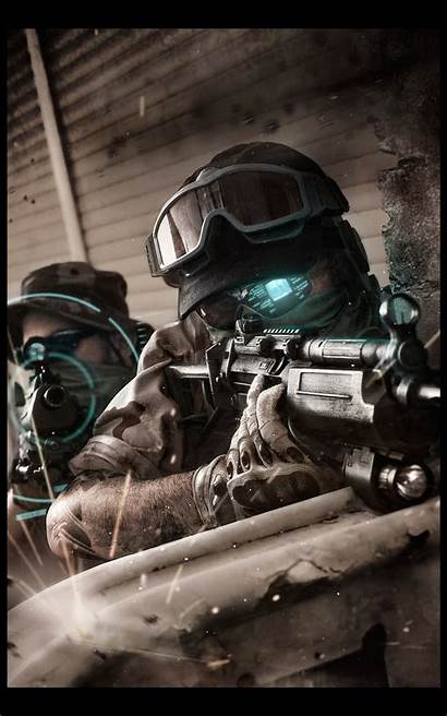 Ghost Recon Soldier Tactical Special Forces Future