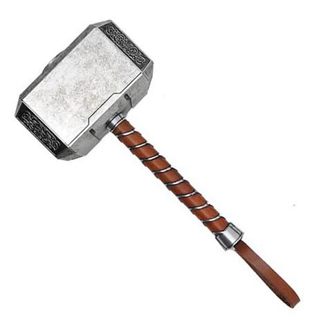 avengers thor mjolnir hammer full size prop replica efx