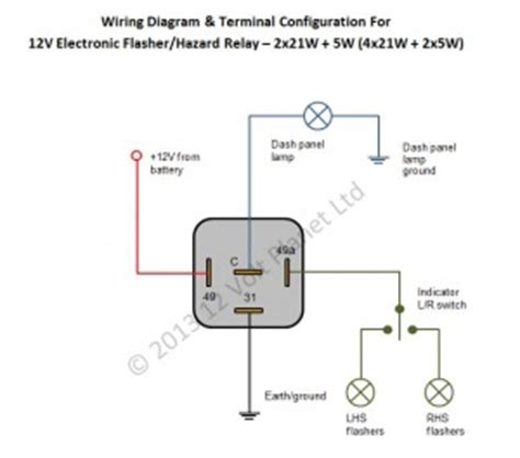 Aux Light Wiring Diagram 5 Wire Relay by 5 Pin 12v Relay Diagram Parts Wiring Diagram Images
