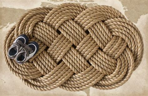 celtic doormat large rope doormat nautical sailor s plait celtic