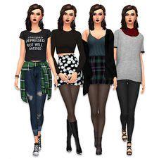 resultado de imagem sims 4 cc clothes sims 4 clothes pinterest