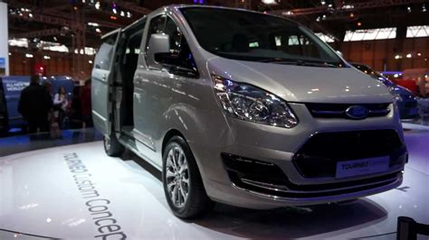 2012 New Ford Transit 8 Seater Tourneo Custom Concept