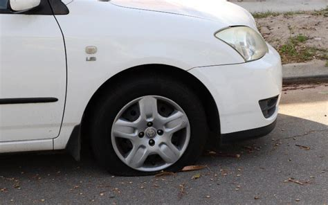 Tyre Slasher Targets Perth's South