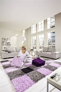 Teppich Grau Lila : teppich lila grau 10062620171009 ~ Indierocktalk.com Haus und Dekorationen