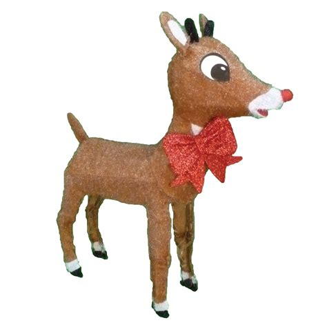 rudolph the red nosed reindeer lightup rudolph outdoor
