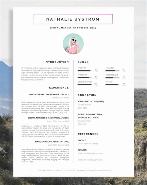 Are Cv S by 17 Awesome Exles Of Creative Cvs Resumes Guru