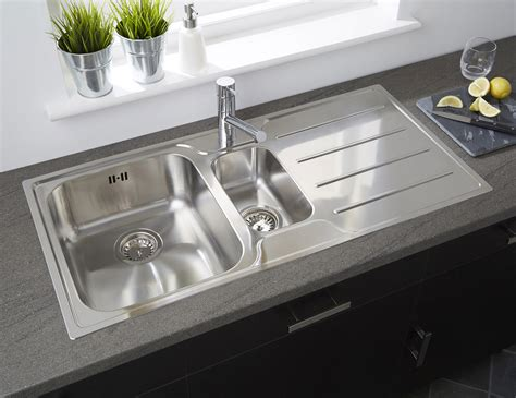 Astracast Plateau . Bowl Polished Stainless Steel Flush