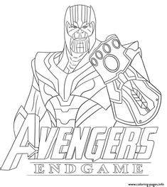 avengers endgame  ausmalbilder fuer kinder malvorlagen zum ausdrucken und ausmalen