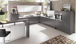 Küche Grau Holz : k che wei grau die neuesten innenarchitekturideen ~ Michelbontemps.com Haus und Dekorationen