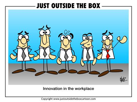 Think Outside The Box Archives  Just Outside The Box Cartoon
