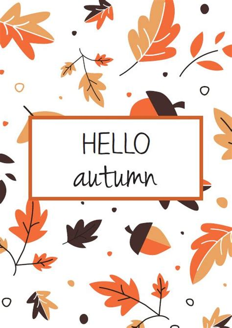 Aesthetic Thanksgiving Wallpaper by Gratis Pikajoe Herfstkaart Everything Autumn Fall