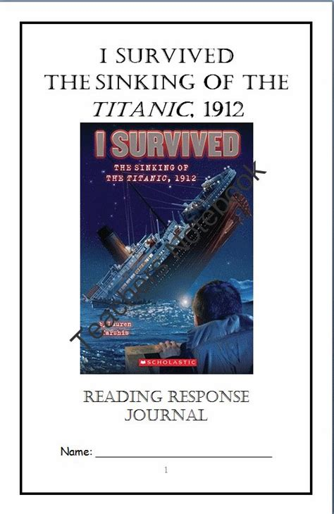 i survived the sinking of the titanic i survived the sinking of the titanic 1912 reading