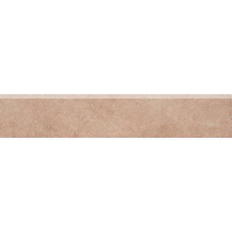 bullnose floor tile trafficmaster island sand 3 in x 16 in glazed ceramic bullnose floor and wall tile ug4w the