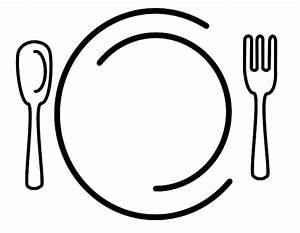 Dinner Clipart Black And White | Clipart Panda - Free ...