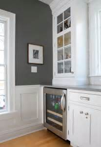 Benjamin Moore Chelsea Gray Kitchen Paint Color