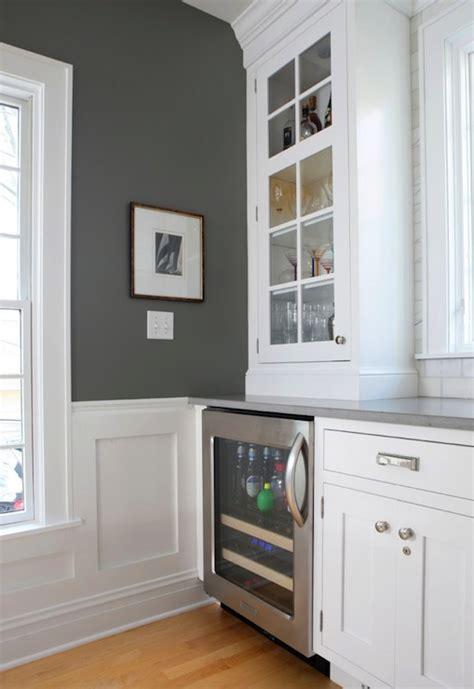 liquor cabinet rustic iron and wood with by normandy remodeling gorgeous kitchen with charcoal gray