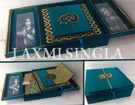 Design Wedding Cards Box Rani Bagh Delhi Laxmi Art Cr And