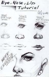 Eye, nose and lip tutorial by blucinema on DeviantArt
