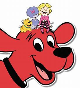 Clifford clipart friend - Pencil and in color clifford ...