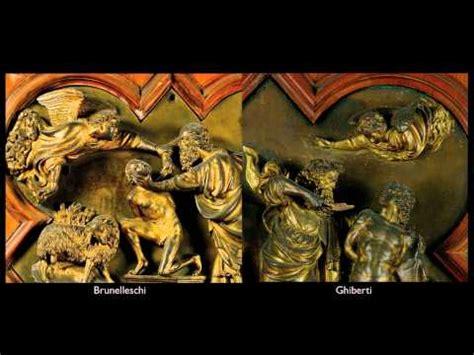 Brunelleschi & Ghiberti, the Sacrifice of Isaac (video ...