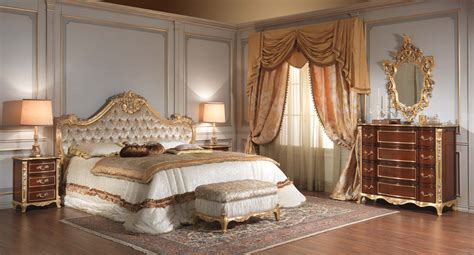 Queen Cherry Headboard by Classic Italian 18th Century Bedroom Vimercati Classic