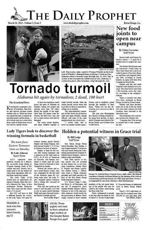 The fresh an online news story can be continually tweaked and improved and even deleted entirely. 8+ Sample Newspaper Templates - PSD, EPS | Free & Premium ...