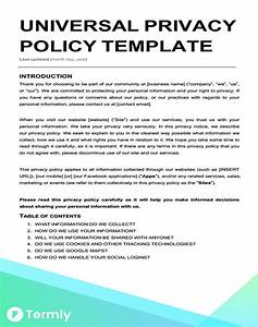 contemporary website privacy policy template ideas With transfer pricing policy template