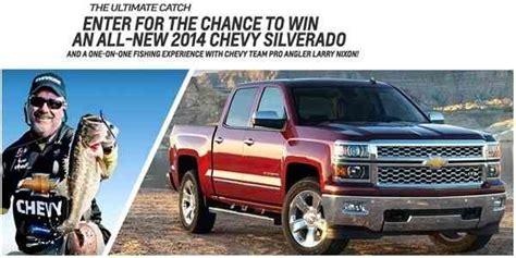 Win A 2014 Chevy Silverado Truck Sweepstakesbible