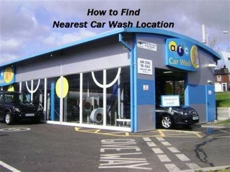 How To Find Nearest Car Wash Location  Car Detailing Near Me