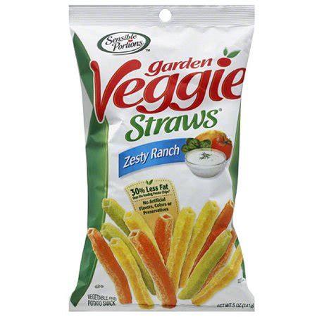 garden veggie straws sensible portions zesty ranch garden veggie straws 5 oz