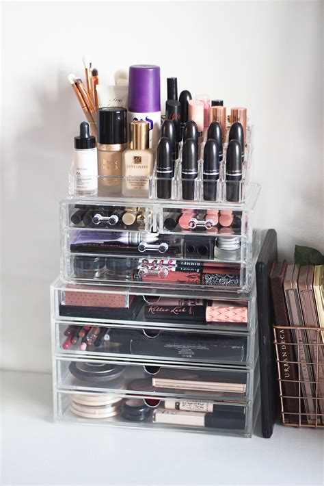 makeup drawer organizer makeup storage tour gemma louise