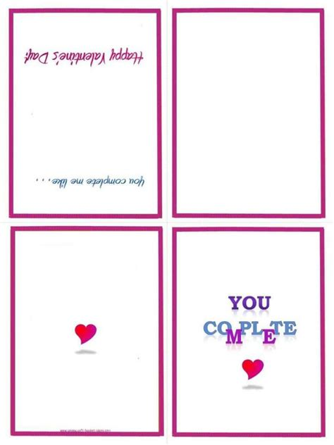 Card Template Free Printable Birthday Cards For Boyfriend Template